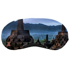 Borobudur Temple  Morning Serenade Sleeping Masks by Nexatart