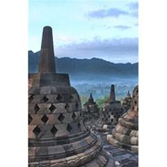 Borobudur Temple  Morning Serenade 5 5  X 8 5  Notebooks by Nexatart