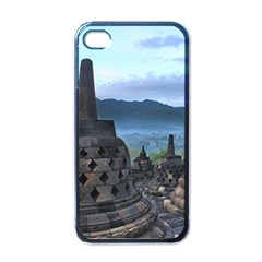 Borobudur Temple  Morning Serenade Apple Iphone 4 Case (black)