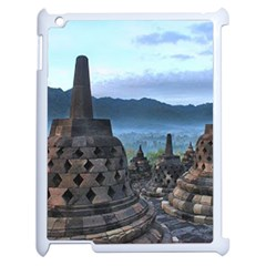 Borobudur Temple  Morning Serenade Apple Ipad 2 Case (white)