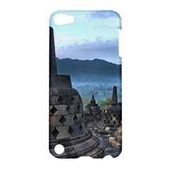 Borobudur Temple  Morning Serenade Apple Ipod Touch 5 Hardshell Case by Nexatart