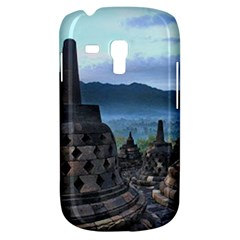 Borobudur Temple  Morning Serenade Galaxy S3 Mini by Nexatart