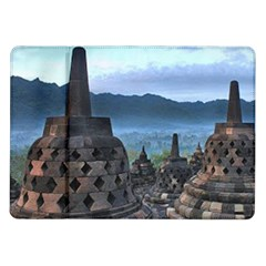 Borobudur Temple  Morning Serenade Samsung Galaxy Tab 10 1  P7500 Flip Case