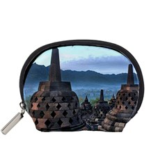 Borobudur Temple  Morning Serenade Accessory Pouches (small)