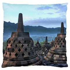 Borobudur Temple  Morning Serenade Standard Flano Cushion Case (one Side)