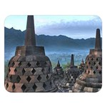 Borobudur Temple  Morning Serenade Double Sided Flano Blanket (Large)   Blanket Back