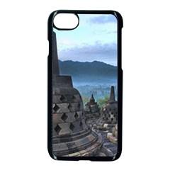 Borobudur Temple  Morning Serenade Apple Iphone 7 Seamless Case (black) by Nexatart