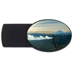 Bromo Caldera De Tenegger  Indonesia Usb Flash Drive Oval (4 Gb) by Nexatart