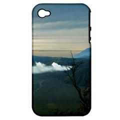 Bromo Caldera De Tenegger  Indonesia Apple Iphone 4/4s Hardshell Case (pc+silicone) by Nexatart