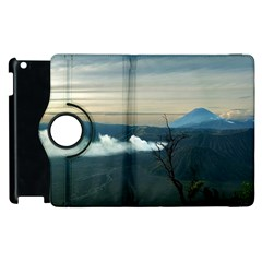 Bromo Caldera De Tenegger  Indonesia Apple Ipad 3/4 Flip 360 Case by Nexatart