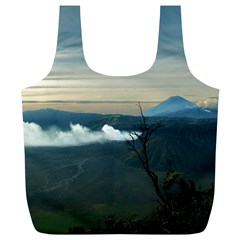 Bromo Caldera De Tenegger  Indonesia Full Print Recycle Bags (l)  by Nexatart