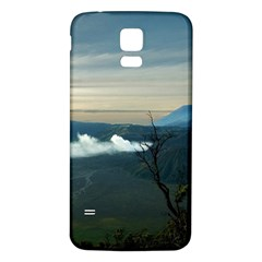 Bromo Caldera De Tenegger  Indonesia Samsung Galaxy S5 Back Case (white) by Nexatart