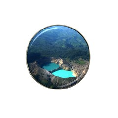 Kelimutu Crater Lakes  Indonesia Hat Clip Ball Marker (10 Pack) by Nexatart