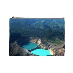 Kelimutu Crater Lakes  Indonesia Cosmetic Bag (large)