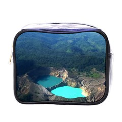 Kelimutu Crater Lakes  Indonesia Mini Toiletries Bags by Nexatart
