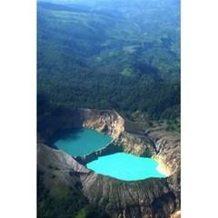 Kelimutu Crater Lakes  Indonesia 5 5  X 8 5  Notebooks by Nexatart
