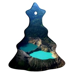 Kelimutu Crater Lakes  Indonesia Ornament (christmas Tree)