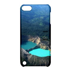 Kelimutu Crater Lakes  Indonesia Apple Ipod Touch 5 Hardshell Case With Stand