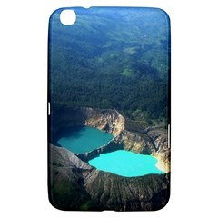Kelimutu Crater Lakes  Indonesia Samsung Galaxy Tab 3 (8 ) T3100 Hardshell Case
