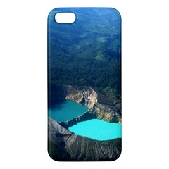 Kelimutu Crater Lakes  Indonesia Iphone 5s/ Se Premium Hardshell Case