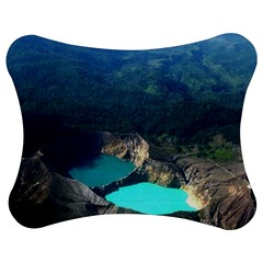 Kelimutu Crater Lakes  Indonesia Jigsaw Puzzle Photo Stand (bow)