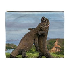 Komodo Dragons Fight Cosmetic Bag (xl)