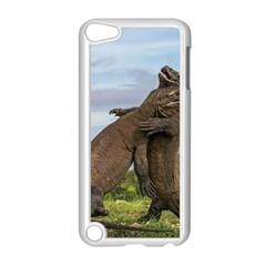 Komodo Dragons Fight Apple Ipod Touch 5 Case (white)