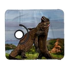 Komodo Dragons Fight Galaxy S3 (flip/folio) by Nexatart