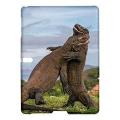 Komodo Dragons Fight Samsung Galaxy Tab S (10 5 ) Hardshell Case  by Nexatart