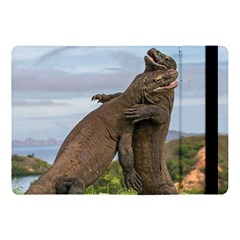 Komodo Dragons Fight Apple Ipad Pro 10 5   Flip Case