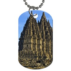 Prambanan Temple Dog Tag (two Sides) by Nexatart