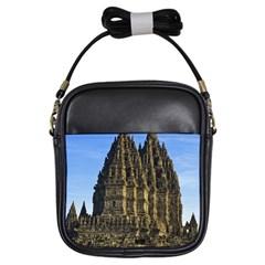 Prambanan Temple Girls Sling Bags by Nexatart