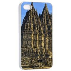 Prambanan Temple Apple Iphone 4/4s Seamless Case (white)