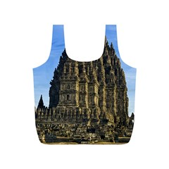 Prambanan Temple Full Print Recycle Bags (s)