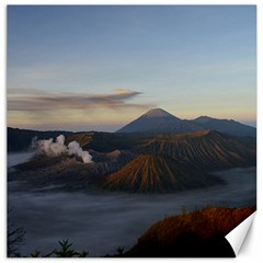 Sunrise Mount Bromo Tengger Semeru National Park  Indonesia Canvas 12  X 12   by Nexatart