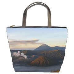 Sunrise Mount Bromo Tengger Semeru National Park  Indonesia Bucket Bags