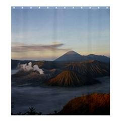 Sunrise Mount Bromo Tengger Semeru National Park  Indonesia Shower Curtain 66  X 72  (large)