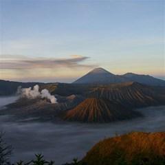 Sunrise Mount Bromo Tengger Semeru National Park  Indonesia Magic Photo Cubes