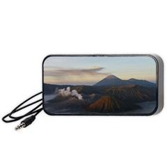 Sunrise Mount Bromo Tengger Semeru National Park  Indonesia Portable Speaker (black)