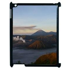 Sunrise Mount Bromo Tengger Semeru National Park  Indonesia Apple Ipad 2 Case (black) by Nexatart