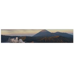 Sunrise Mount Bromo Tengger Semeru National Park  Indonesia Flano Scarf (large)