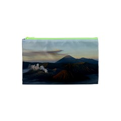 Sunrise Mount Bromo Tengger Semeru National Park  Indonesia Cosmetic Bag (xs) by Nexatart