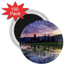 Tamblingan Morning Reflection Tamblingan Lake Bali  Indonesia 2 25  Magnets (100 Pack)
