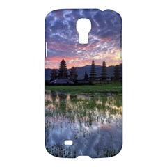 Tamblingan Morning Reflection Tamblingan Lake Bali  Indonesia Samsung Galaxy S4 I9500/i9505 Hardshell Case by Nexatart