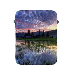 Tamblingan Morning Reflection Tamblingan Lake Bali  Indonesia Apple Ipad 2/3/4 Protective Soft Cases by Nexatart