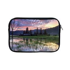 Tamblingan Morning Reflection Tamblingan Lake Bali  Indonesia Apple Ipad Mini Zipper Cases by Nexatart
