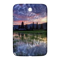 Tamblingan Morning Reflection Tamblingan Lake Bali  Indonesia Samsung Galaxy Note 8 0 N5100 Hardshell Case  by Nexatart