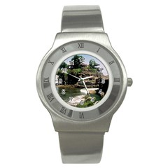 Tanah Lot Bali Indonesia Stainless Steel Watch