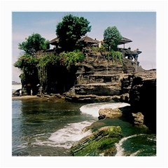 Tanah Lot Bali Indonesia Medium Glasses Cloth (2 Side)