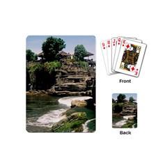 Tanah Lot Bali Indonesia Playing Cards (mini)
